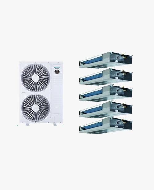 原装合资正品-海信中央空调一拖五/大6P/HVR-180W/L2FZBp