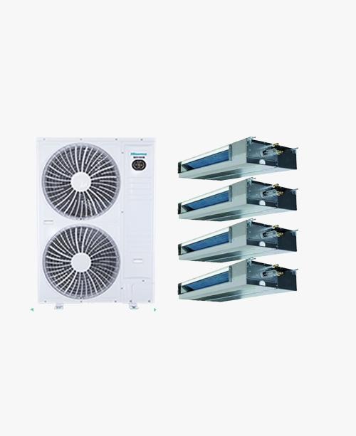 海信荣耀家系列家用 中央空调 多联机 HVR-180W 大6匹一拖四(90-150㎡)