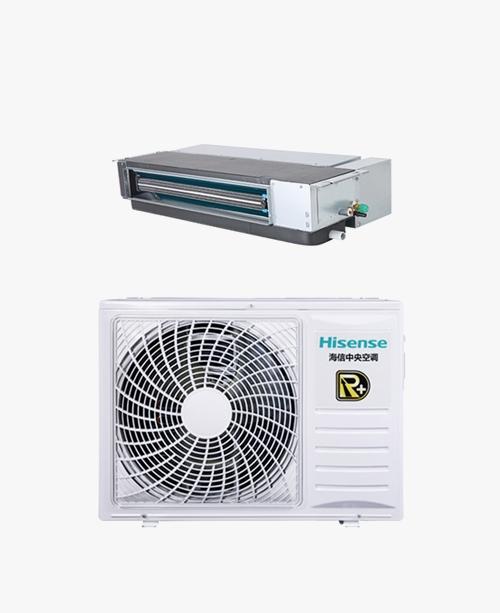 海信家用中央空调R+系列变频风管机3P/ HUR-65KFWH/R2FZBp/Pd