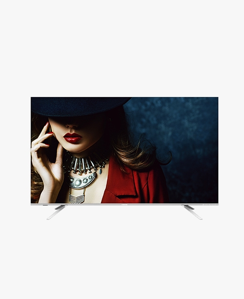 【HZ50E5 A】50英寸/4K超清/unibody一体超薄/2+32G大运存/无边全面屏电视