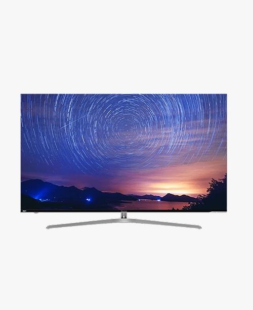 【H65E9A】65英寸/超薄全面屏/4+64GB超大内存/杜比全景声/ULED超画质电视