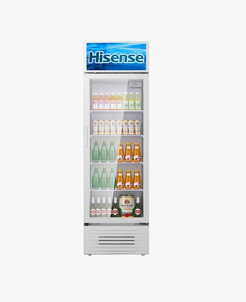【SC-320L】单温/冷藏/320升/玻璃门/立式冷柜