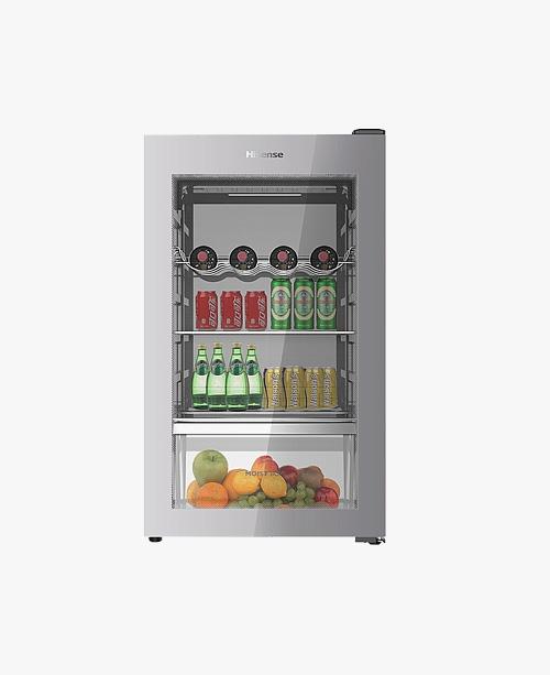【JC-110TL】110升/侧开门/一级能效/厅吧/立式冷柜