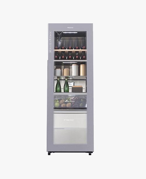 【JC-228WPTL】228升/侧开门/一级能效/高端享受/厅吧/立式冷柜